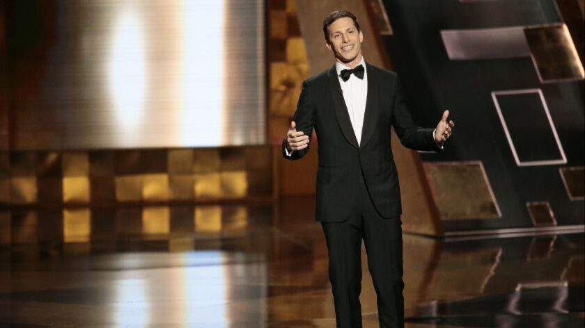 With Andy Samberg no longer on the network, Fox will need to find a new Emmy Awards host from its talent pool.