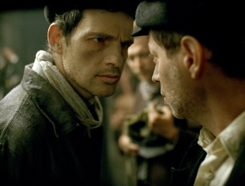"This image released by Sony Pictures Classics shows Geza Rohrig in a scene from ""Son of Saul."" (Sony Pictures Classics via AP)"