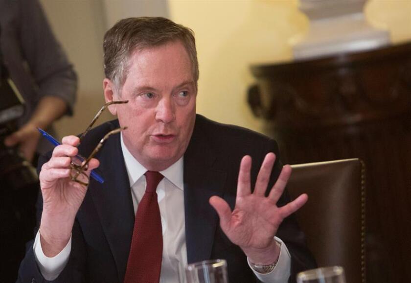 Robert Lighthizer, representante de comercio Exterior de EE.UU. EFE/Archivo