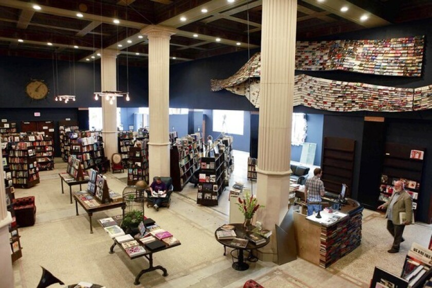 This 10,000-square-foot space on the corner of Spring and 5th Streets in downtown Los Angeles is the new home of the Last Bookstore.