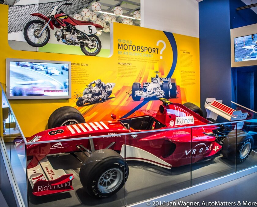 Formula 1 exhibit: Should motorsport be an Olympic event?