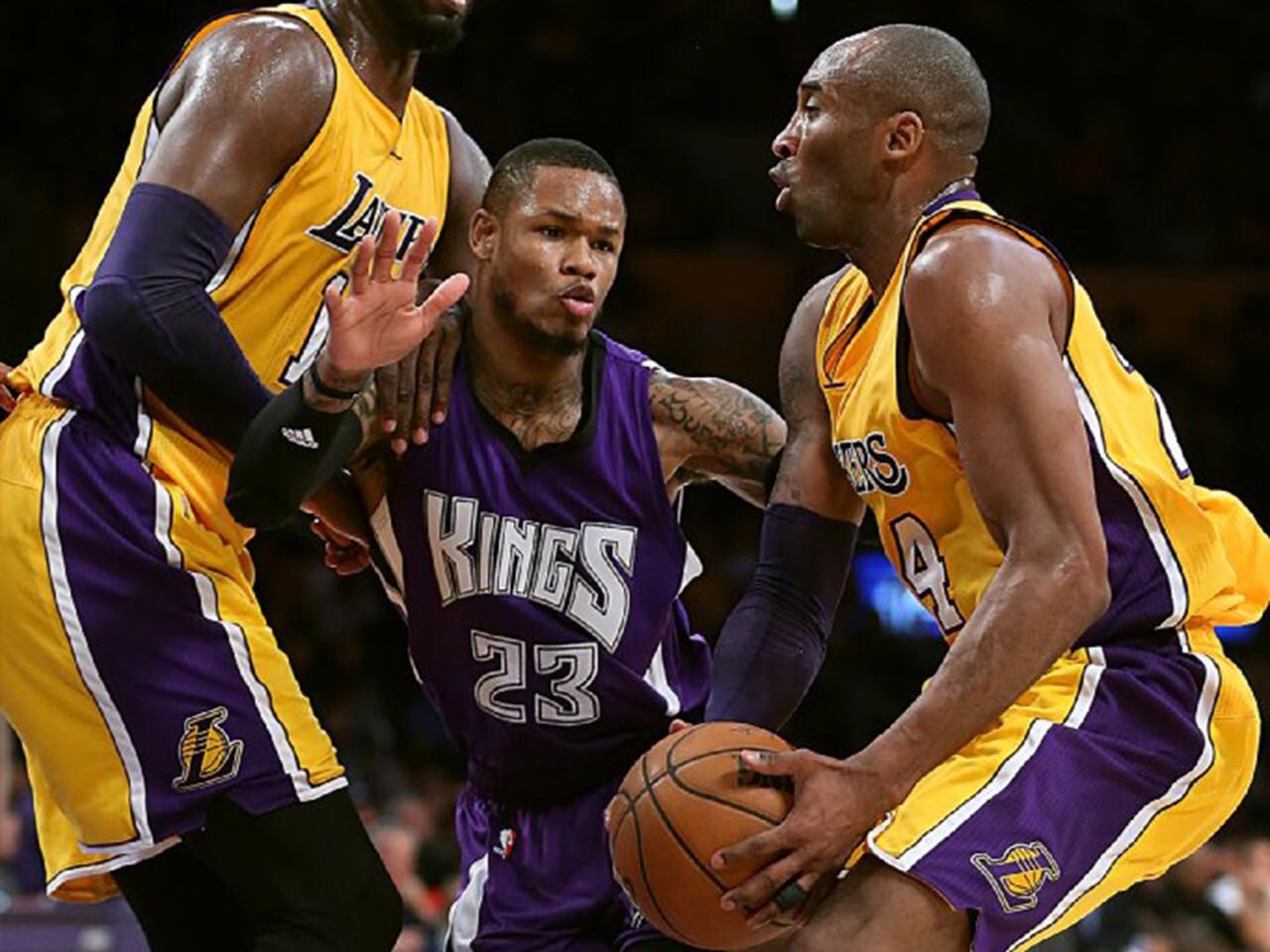 Kobe Bryant, Ben McClemore, Roy Hibert