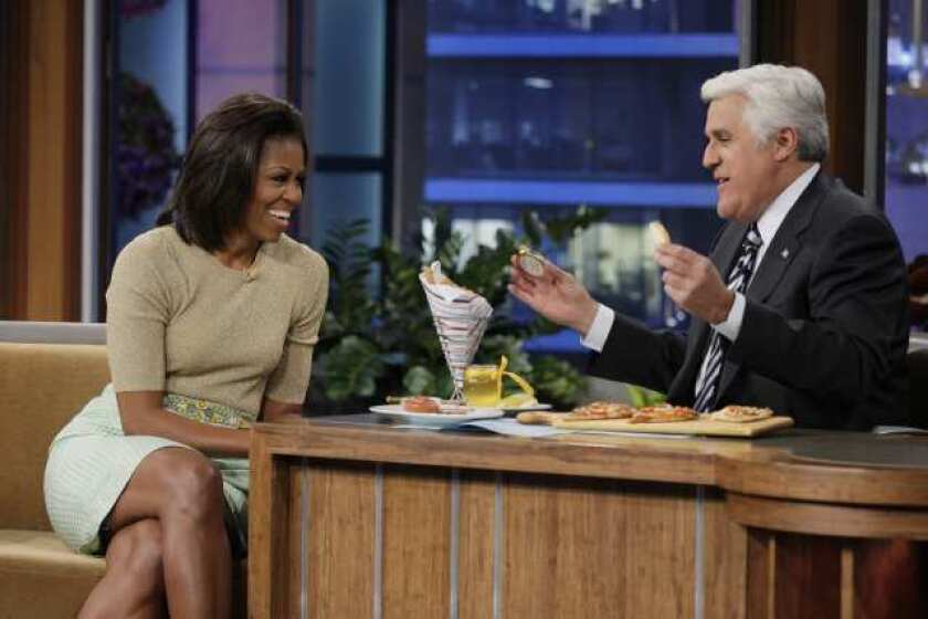 Michelle Obama to make 'Tonight Show' appearance