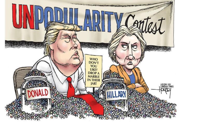 Sólo el 40 por ciento del electorado republicano se dice satisfecho con Donald Trump, según un sondeo del Pew Research Center. Un 43 por ciento de los votantes lo están con Hillary Clinton, y cuatro de cada 10 incluso dice que es difícil decidir por que creen que ninguno sería un buen Presidente.
