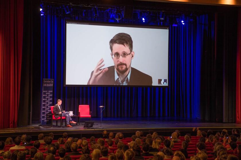 Edward Snowden in Berlin