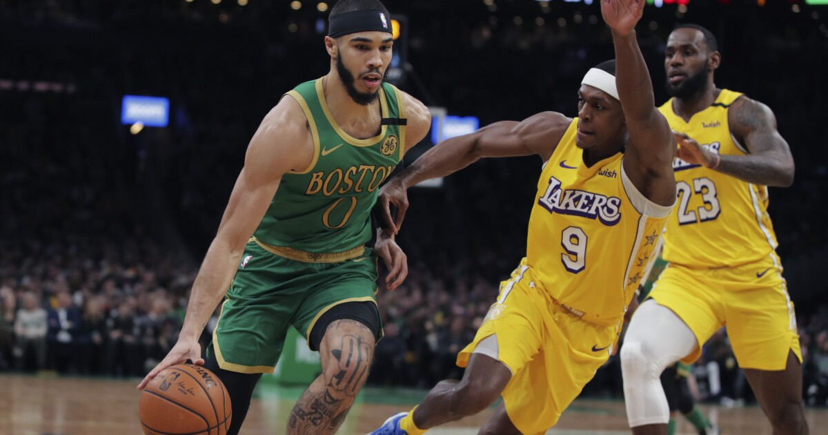 Celtics hand the Lakers their worst loss this season despite Anthony Davis' return