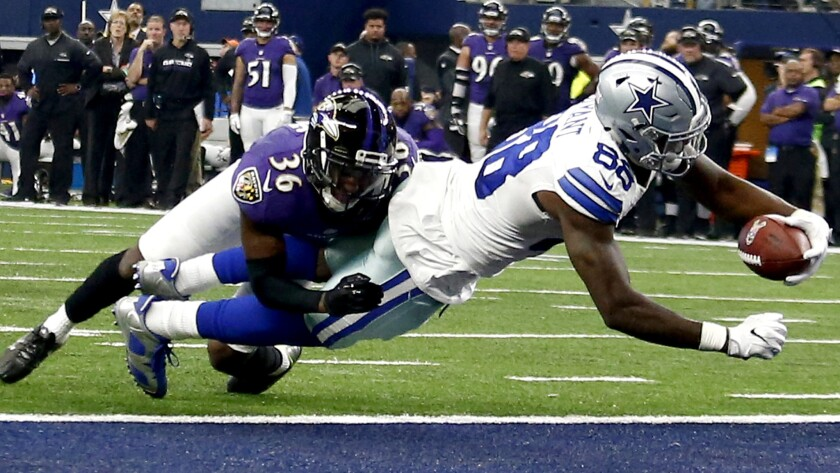 Nfl Cowboys Turn Back Ravens Bills Edge Bengals And