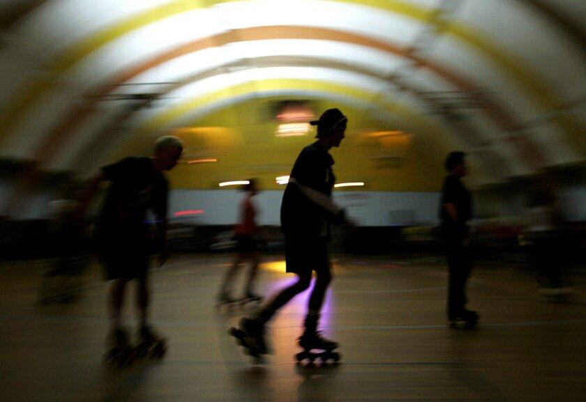In this file photo, skaters roll at Skateworld Roller Rink in Linda Vista.