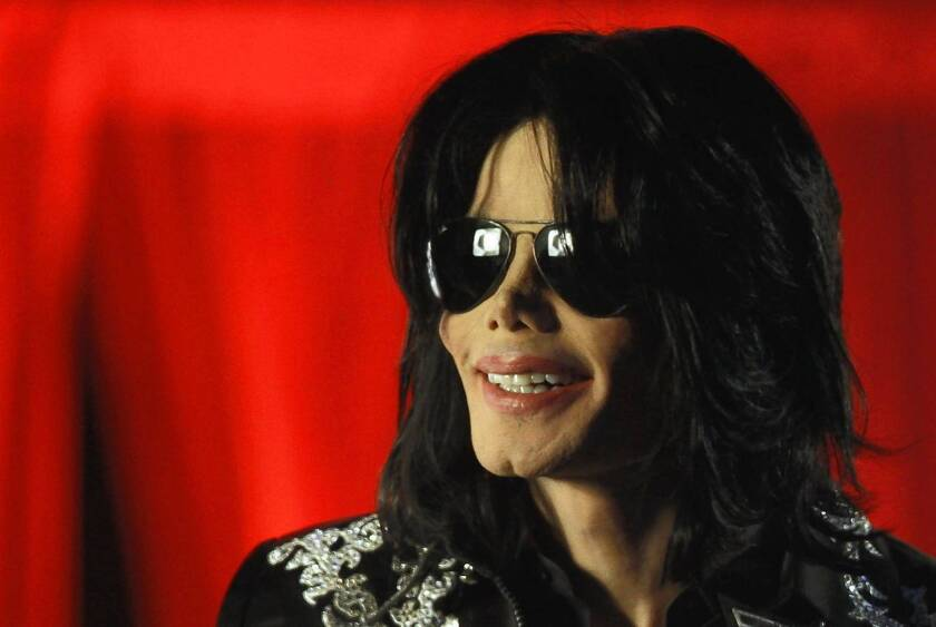 """Michael Jackson, shown in 2009, was tired of he and his children living like """"vagabonds,"""" AEG Live Chief Executive Randy Phillips testified Wednesday at the trial over the wrongful-death lawsuit filed by Jackson's family against AEG Live."""