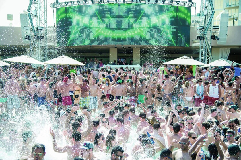 Wet Republic at the MGM Grand. (Photo by Powers Imagery)