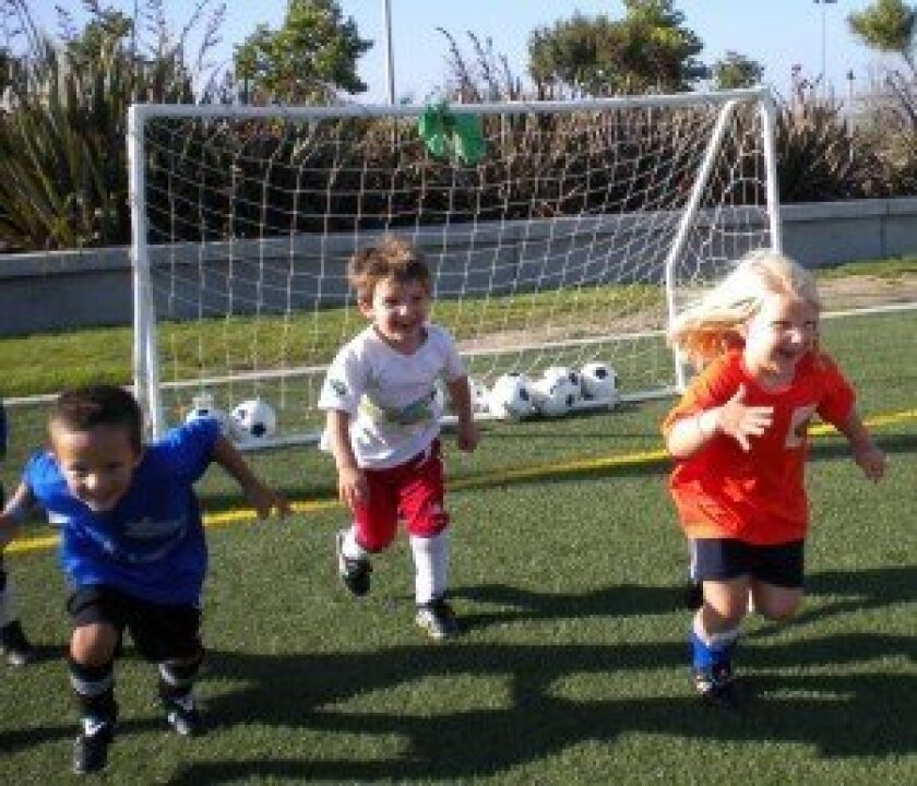 Little Rascalz Soccer has brought the sport to children ages 18 months to 5 years old throughout San Diego for the last seven years. Courtesy photo