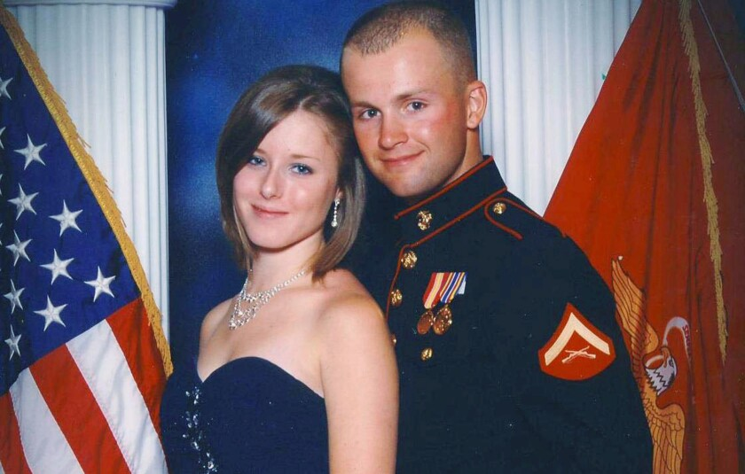 Man found guilty of killing fellow Marine's pregnant wife