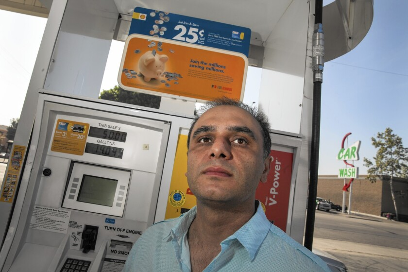 Benjamin Donel, who owns a Shell station at Avenue 52 and Figueroa Street in Highland Park, raised the ire of neighbors when he planned to put a car wash in his station. Nearby residents complained that the car wash would create noise and congestion.