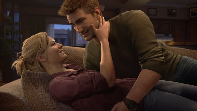 "In Naughty Dog's video game ""Uncharted 4: A Thief's End,"" Nathan Drake lies to his wife to go on a hunt for pirate loot."