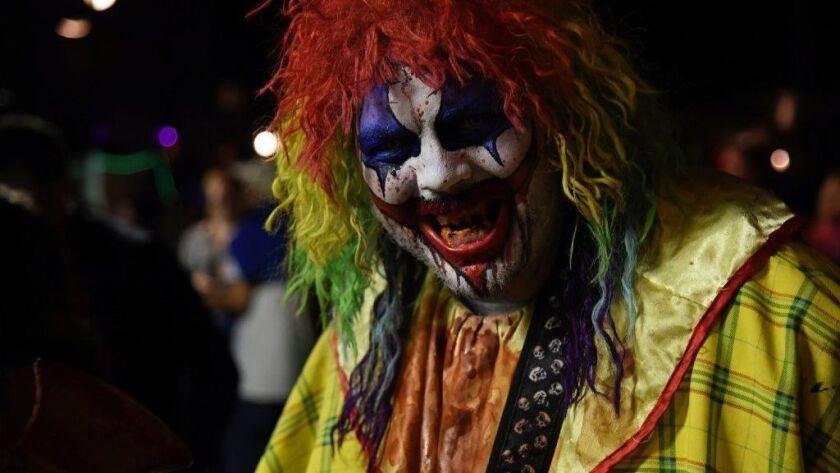 Not-so-funny clown