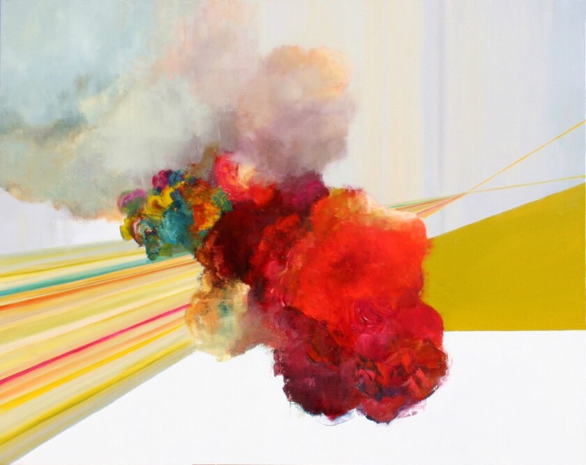 """""""Glimmer"""" by Julia San Roman."""