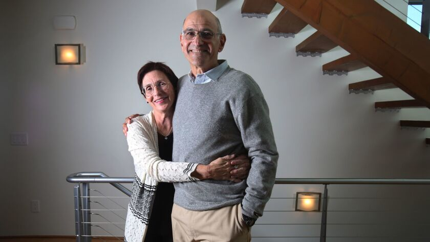 Carlsbad residents Esther and Andrew Schorr run two websites that help cancer patients find the latest information on drug development, clinical trials and other patients' experiences.