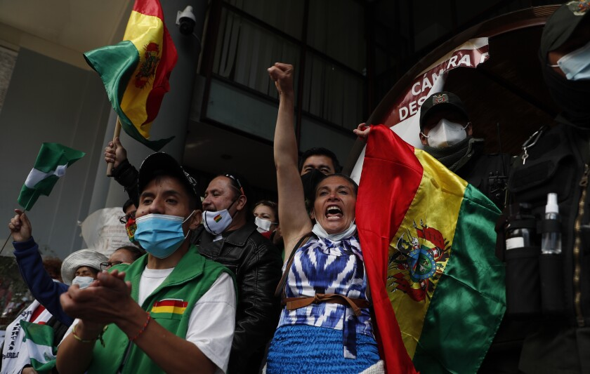 Bolivia: partido de Morales continúa en carrera electoral - San Diego  Union-Tribune en Español