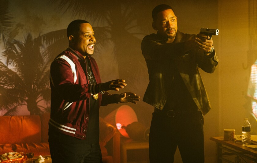 Martin Lawrence and Will Smith in the movie 'Bad Boys for Life'