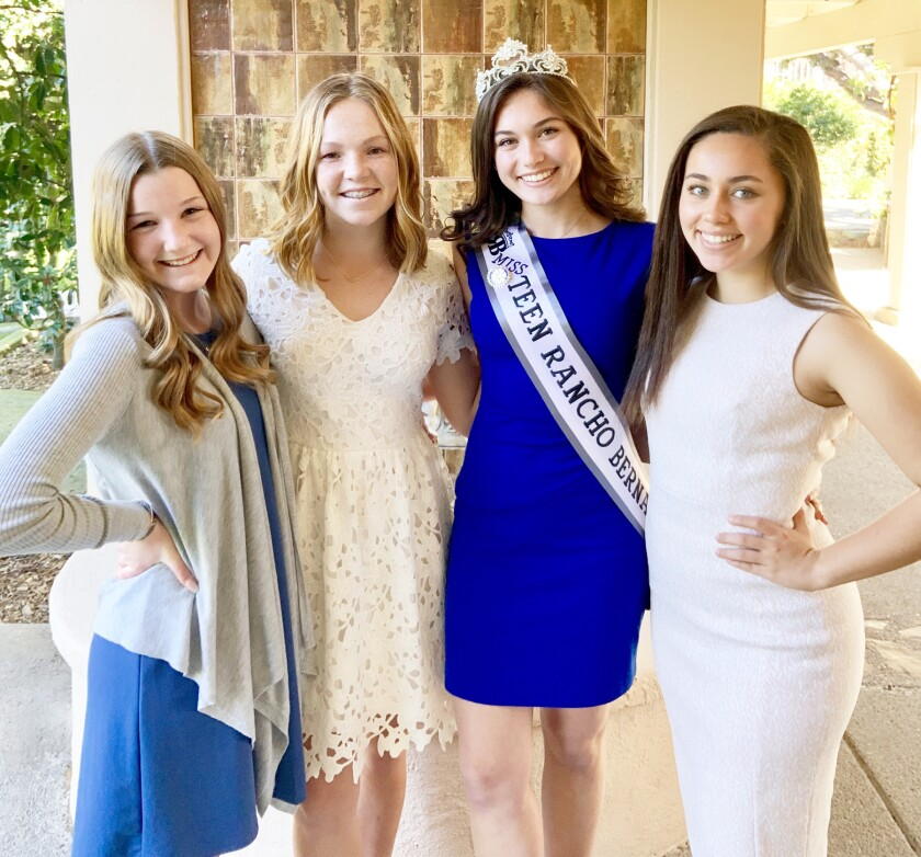 Five want to be crowned Miss Teen Rancho Bernardo - Pomerado ...