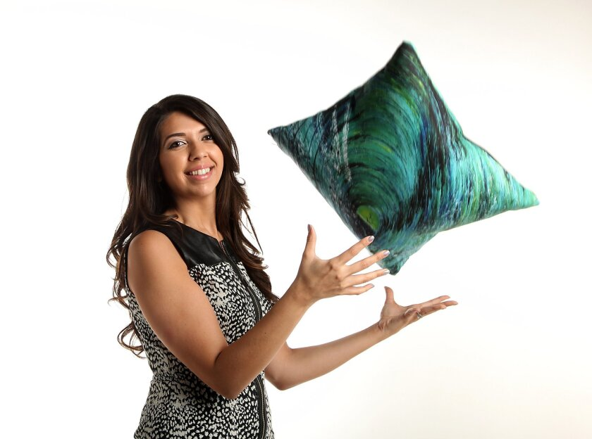 Sara Gupta founded a home decor company with her brother in Oceanside.