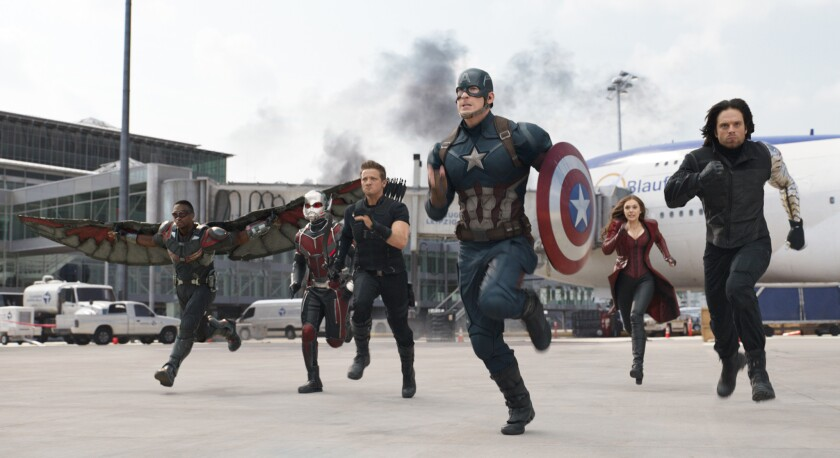 "Walt Disney Co.'s third-quarter earnings have been boosted by blockbuster films, including ""Captain America: Civil War,"" which has grossed more than $1 billion since its May release."