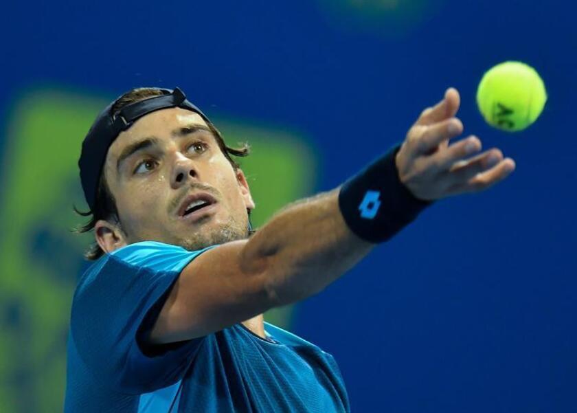 En la imagen, el tenista argentino Guido Pella. EFE/Archivo