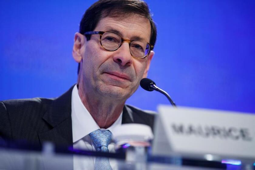 IMF Economic Counsellor and Director of Research Department Maurice Obstfeld. EFE/EPA/FILE