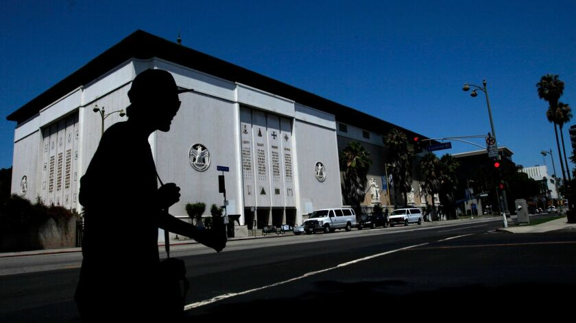 The former Scottish Rite Temple on Wilshire Boulevard in Los Angeles will become a private art museum.