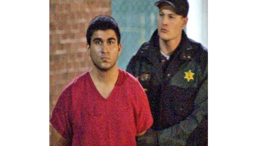 Cascade Mall shooting suspect Arcan Cetin at Skagit County Jail in Mount Vernon, Wash., on Sept. 24.