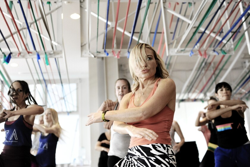 Tracy Anderson's Tava workout