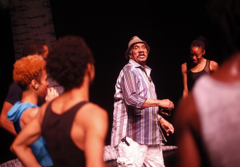 Garth Fagan dance troupe