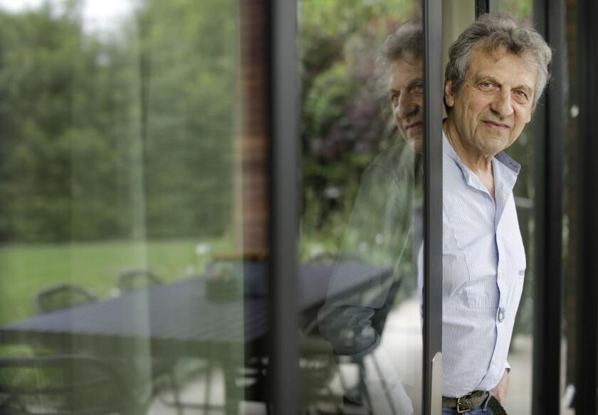 Alain Boublil at his Nichols Canyon home.