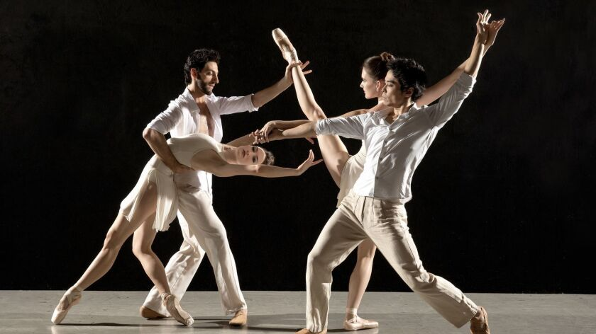 Los Angeles Ballet will opens its season with a performance at UCLA's Royce Hall.