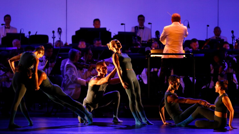 L.A. Dance Project performs Thursday while Ludovic Morlot conducts the Los Angeles Philharmonic at the Hollywood Bowl.
