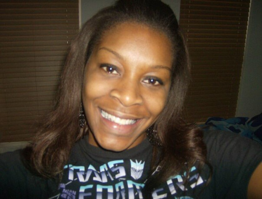 Sandra Bland, in an undated photo provided by her family.