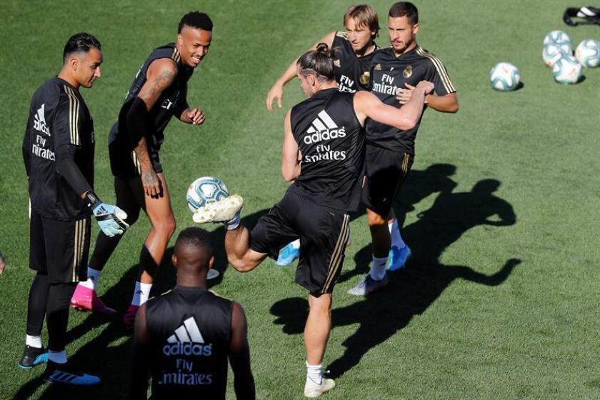 Hazard, James y Brahim completan parte de la sesión con el grupo