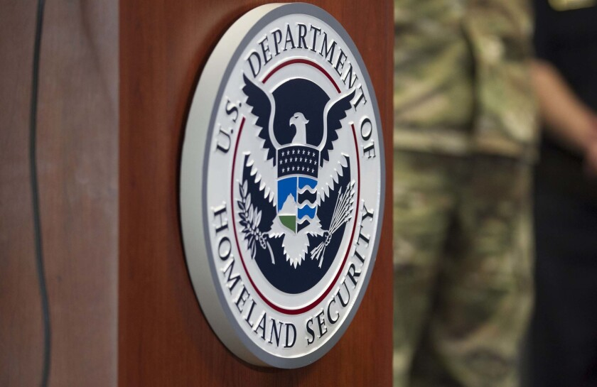Seal of the Department of Homeland Security