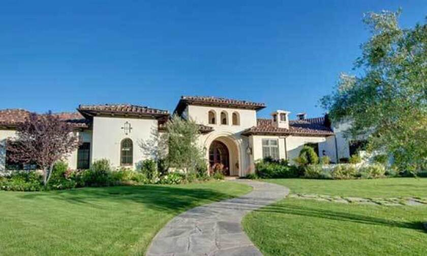 The Mediterranean-style house pop diva Britney Spears bought is near the Sherwood Country Club.
