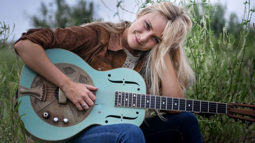 Sarah Rogo will perform with her blues band at the Adams Avenue Street Fair.