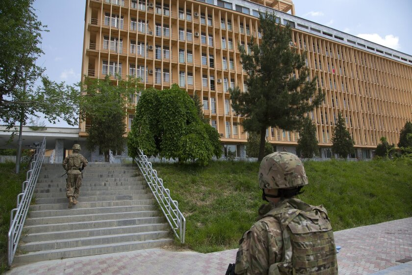 During a U-T San Diego visit in May, the grounds of the National Military Hospital in Kabul generally looked clean and modern.