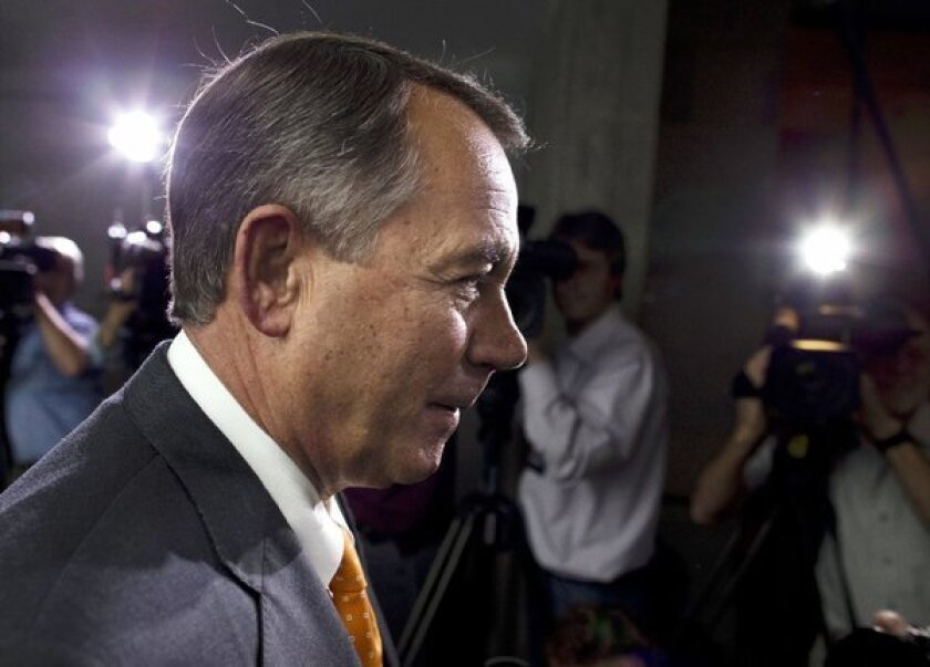 "House Speaker John Boehner: ""We fought the good fight."" So what if it was based on myth and fantasy?"