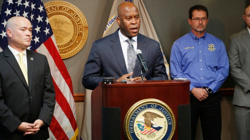 FBI Special Agent in Charge Eric Jackson talks recently about the agency's role in stopping an alleged bomb plot in Kansas.