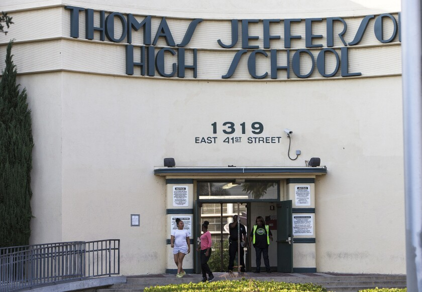 Students at LAUSD high schools such as Thomas Jefferson High School will be required for the first time to take ethnic studies classes to graduate.
