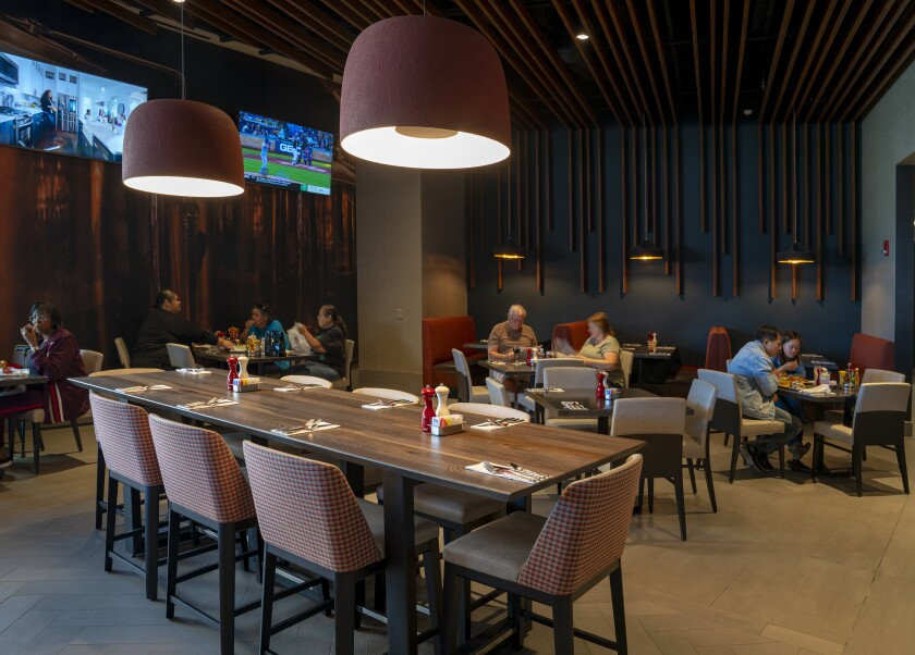 Valley View Casino & Hotel's new restaurant, Patties & Pints.