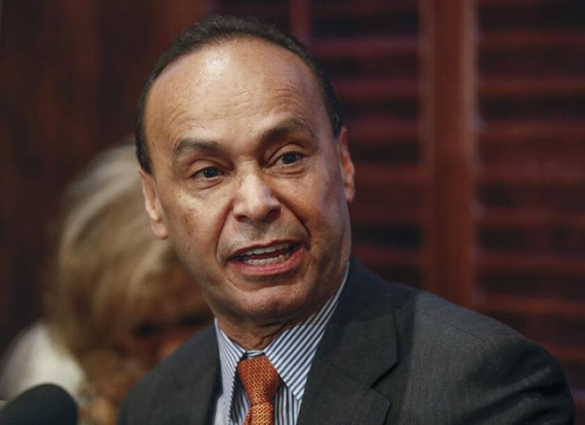 El congresista demócrata por Illinois, Luis Gutiérrez. EFE/Archivo