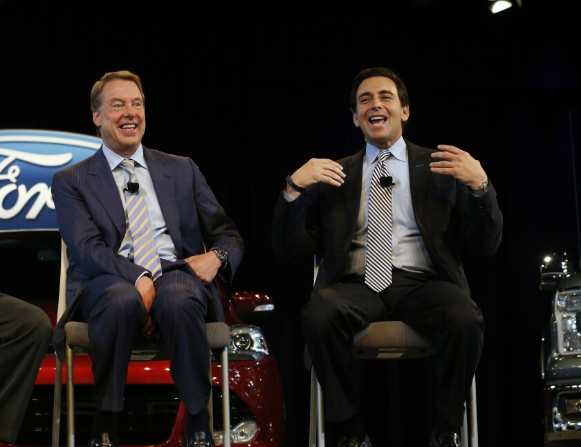 Ford names Mark Fields CEO