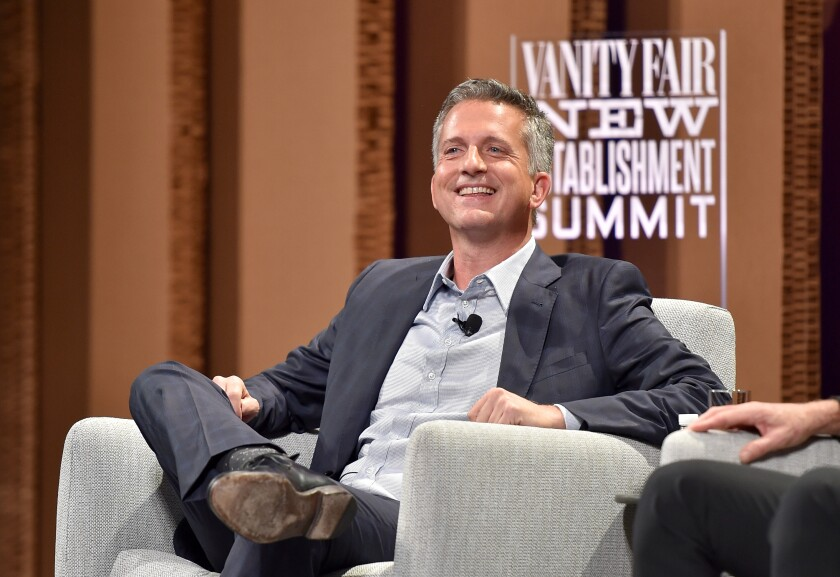 Bill Simmons speaks at an event in San Francisco in 2015.