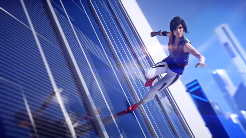 """""""Mirror's Edge Catalyst"""" stars a mixed-race female protagonist, Faith, who opts to unplug from a futuristic society."""