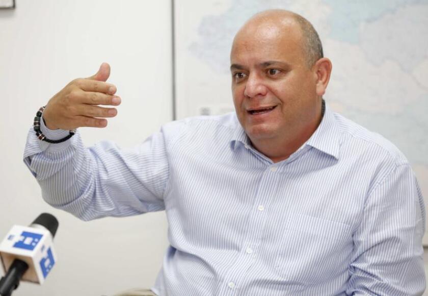 El representante regional de la Oficina del Alto Comisionado de las Naciones Unidas para los Refugiados (ACNUR), José Samaniego. EFE/Archivo